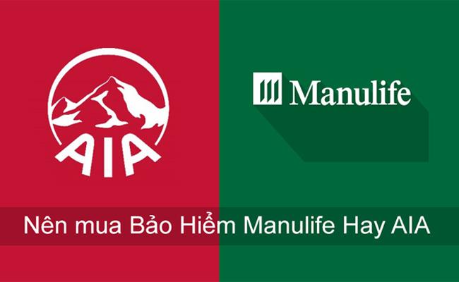 So sánh AIA và Manulife