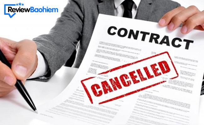 Chấm dứt hợp đồng bảo hiểm có lấy lại được tiền không?