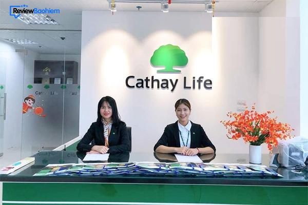 Thông tin liên hệ bảo hiểm Cathay Life của nước nào?